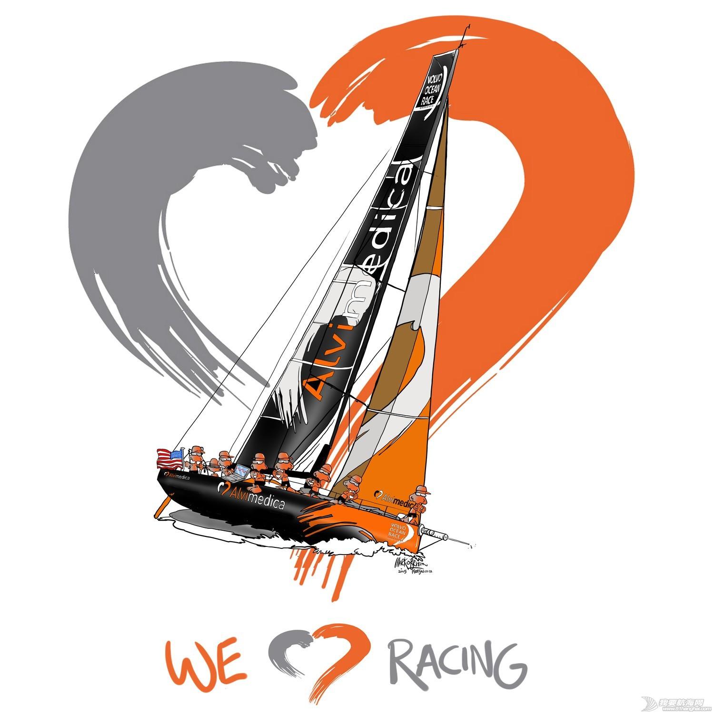 沃尔沃,奥布莱恩,新西兰,漫画家 漫画中的沃尔沃环球帆船赛 心都萌化了