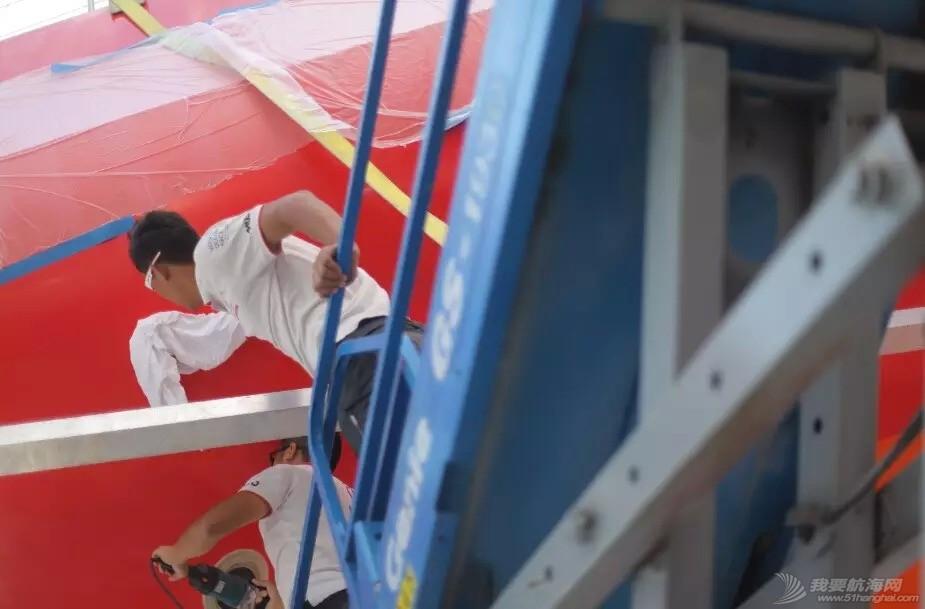 中国船员,沃尔沃,南海观音,工作人员,运动员 奋斗在不同战场的两兄弟——东风队船员刘明、孔晨诚