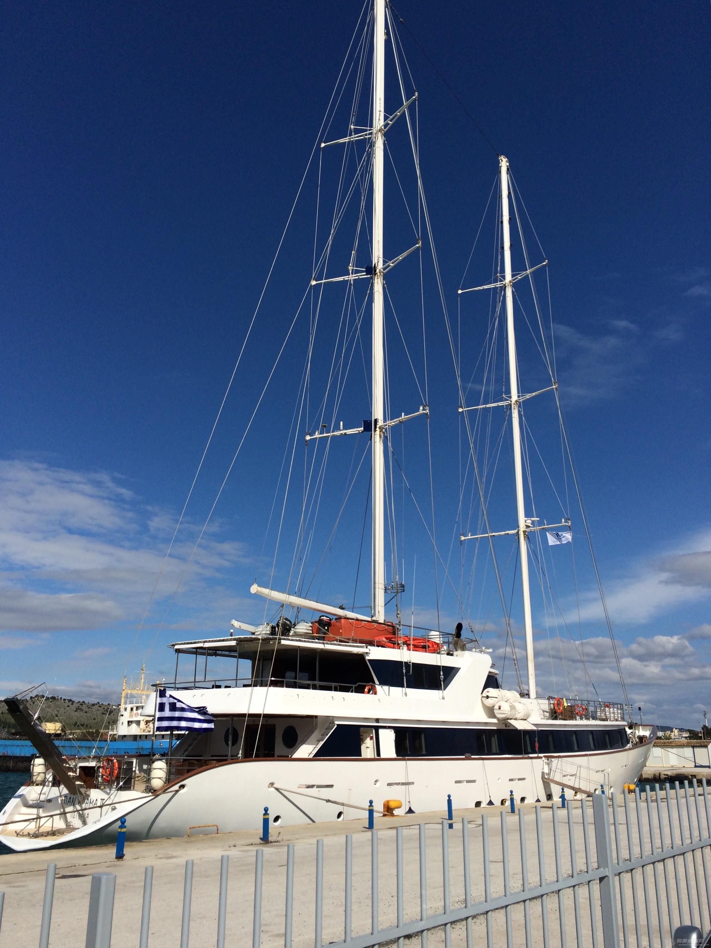 周末自驾游,威尼斯人,帆船,海边,利斯 你见过甲板上有两层的帆船吗?知道这条帆船是多少尺的吗? 2015-03-08IMG_4868.JPG