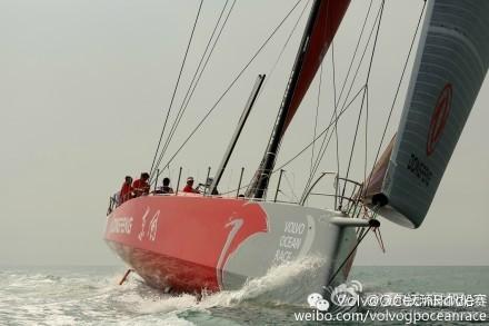 沃尔沃,布列塔尼,帆船运动,Jacques,法国人 戈德赫里埃担任东风队船长