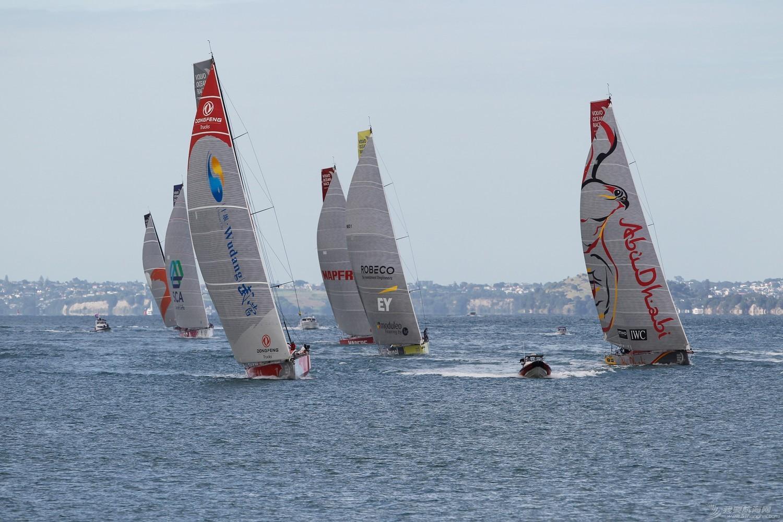 北京时间,阿布扎比,沃尔沃,新西兰,奥克兰 第五赛段从奥克兰起航 东风队一马当先