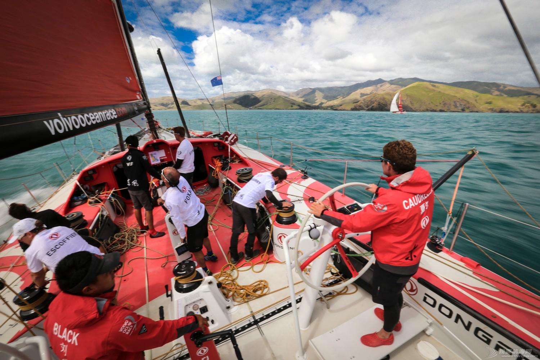 阿布扎比,沃尔沃,新西兰,奥克兰,合恩角 南大洋前最后的平静