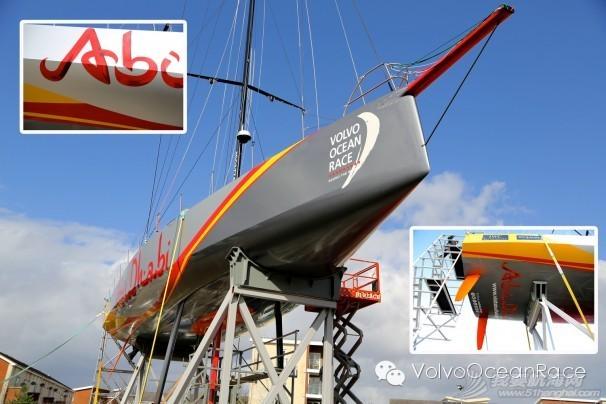阿布扎比,沃尔沃,绿色环保,东风汽车,蒲公英 赛船涂装背后的秘密