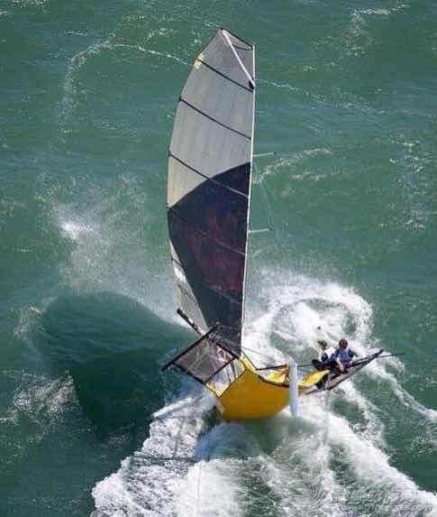 帆船运动,美洲杯 史上最刺激的帆船比赛--F1 sail