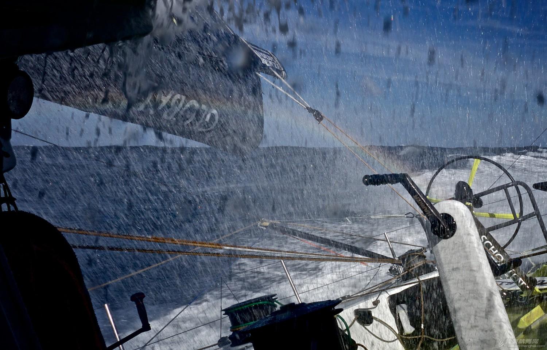 北京时间,阿布扎比,沃尔沃,乌斯怀亚,合恩角 噩梦24小时 - 船队被浪掀至4-5米高度 遭遇开赛来最大危机