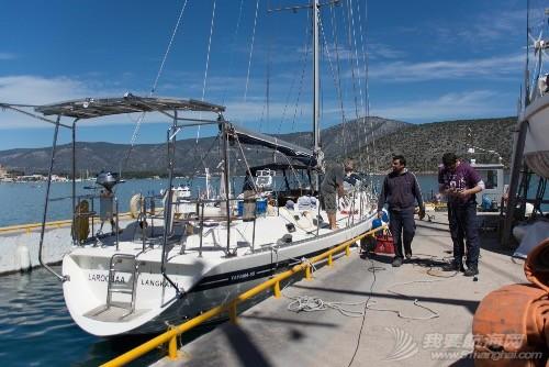 我们的帆船Laroobaa成功下水