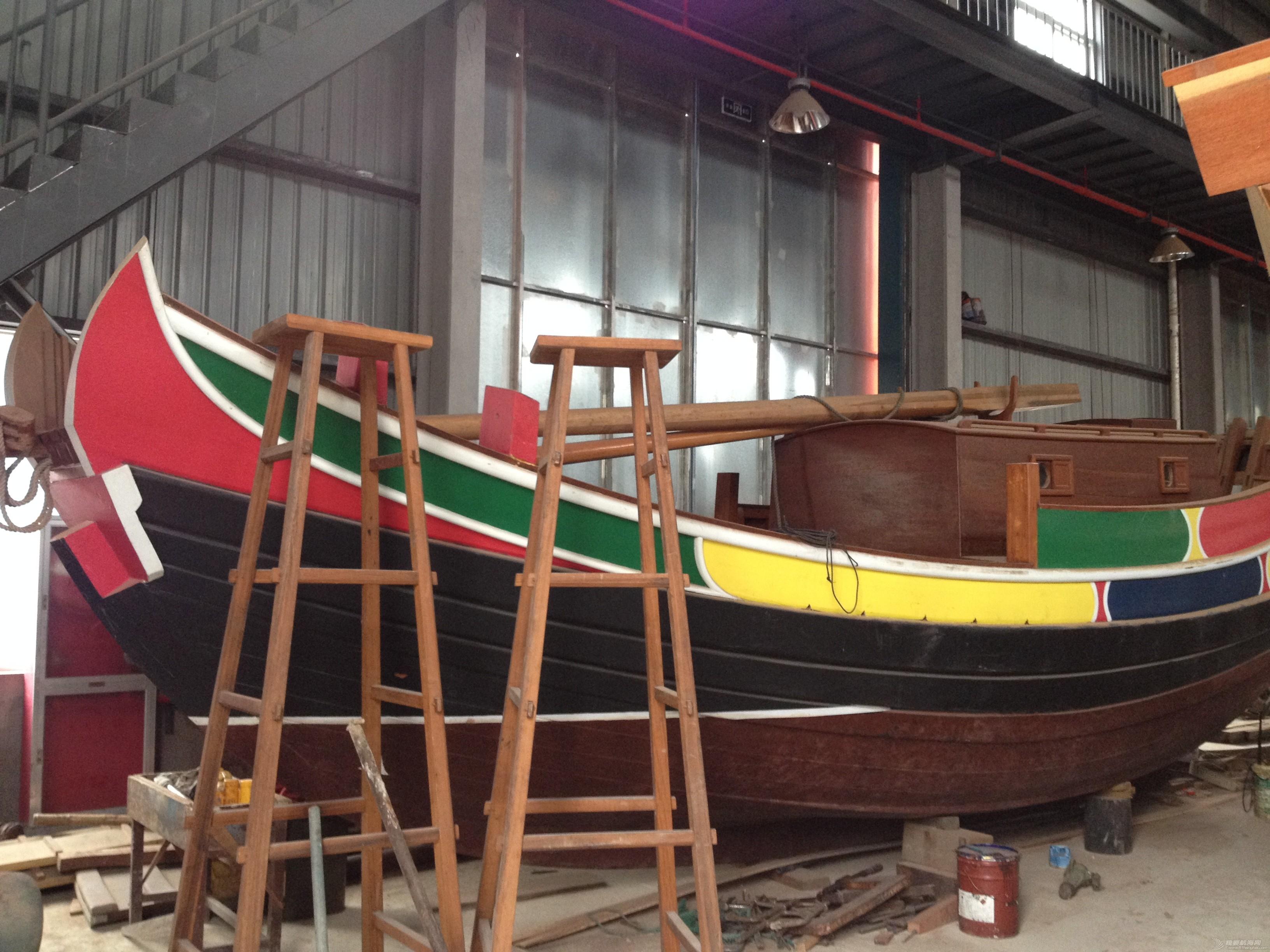 中式风格,交通运输,造船厂,朱家尖,对抗赛 全球首次中式帆船比赛可能会在舟山举行 IMG_7876.JPG