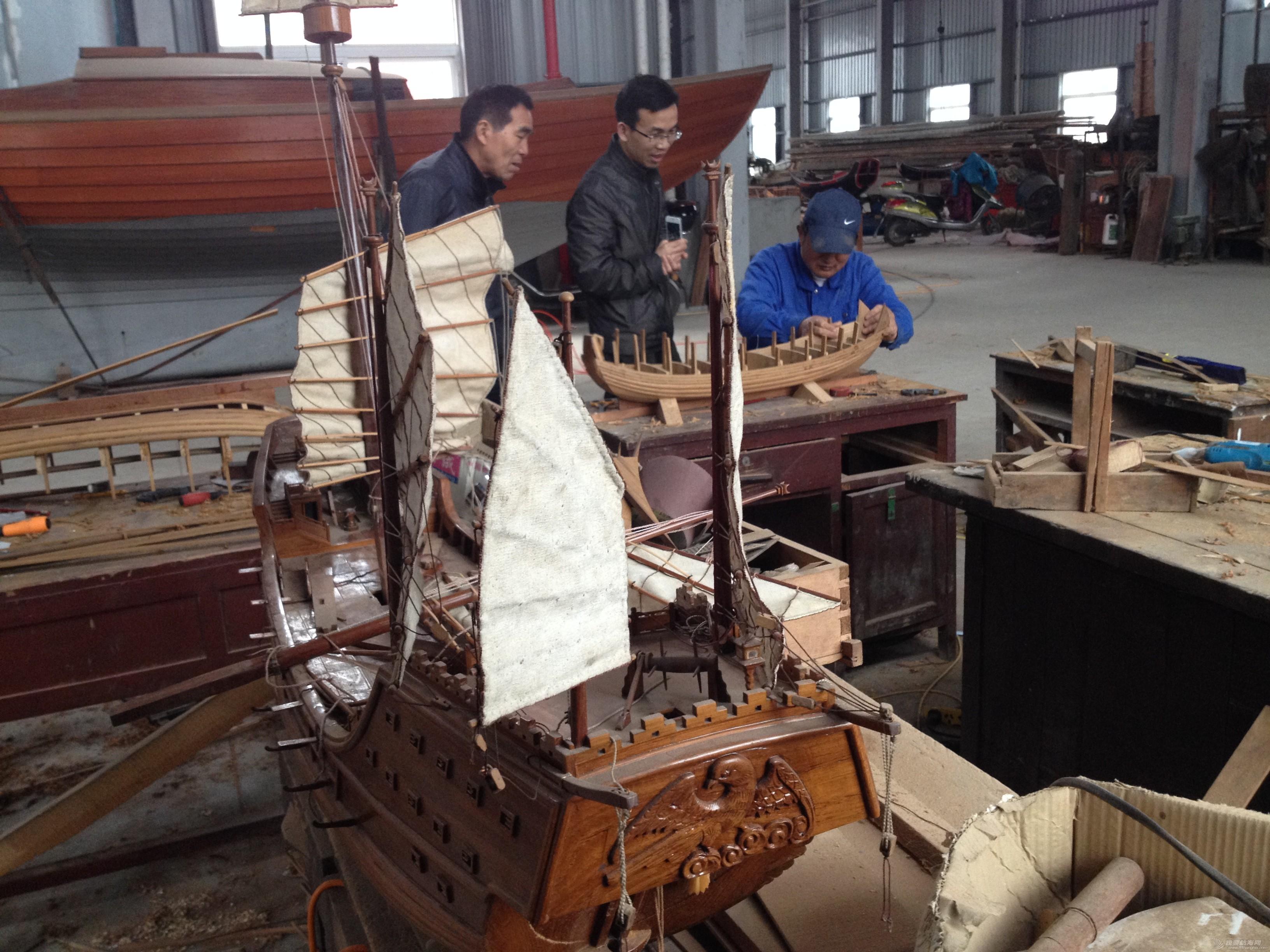 中式风格,交通运输,造船厂,朱家尖,对抗赛 全球首次中式帆船比赛可能会在舟山举行 IMG_7882.JPG