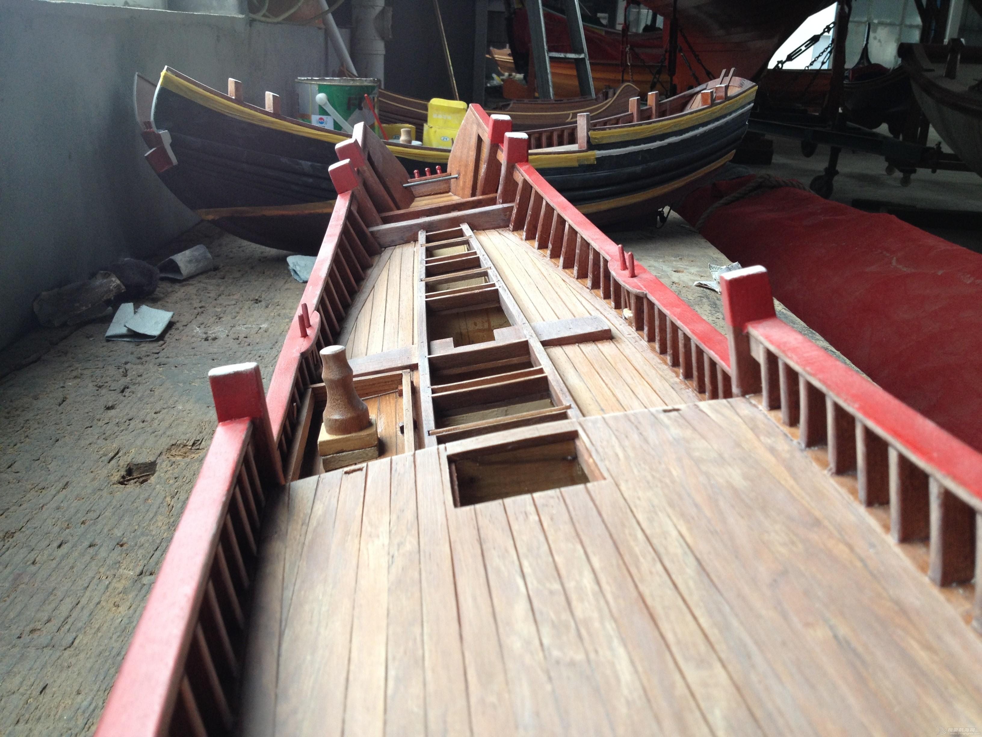 中式风格,交通运输,造船厂,朱家尖,对抗赛 全球首次中式帆船比赛可能会在舟山举行 IMG_7897.JPG