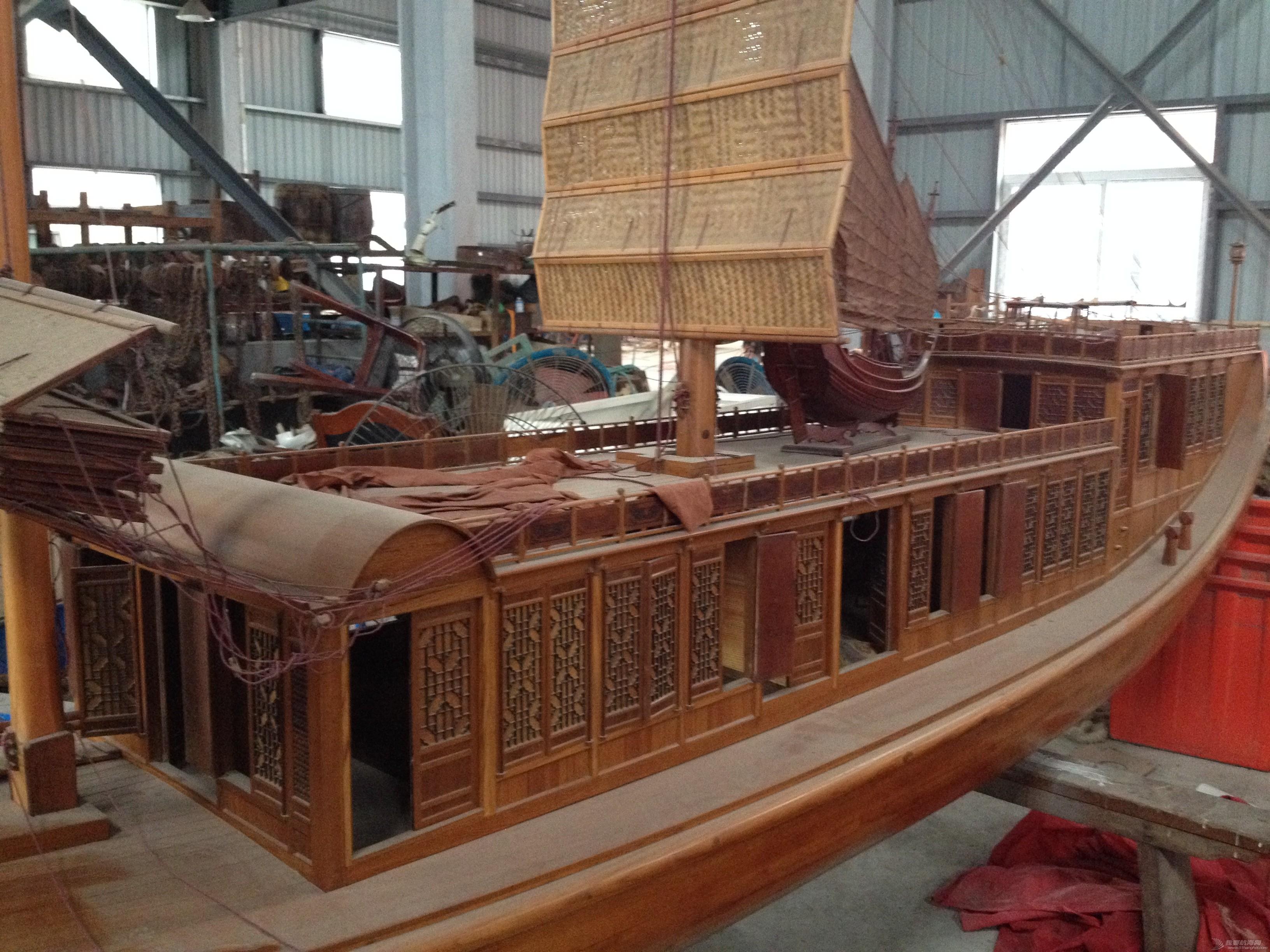 中式风格,交通运输,造船厂,朱家尖,对抗赛 全球首次中式帆船比赛可能会在舟山举行 IMG_7899.JPG