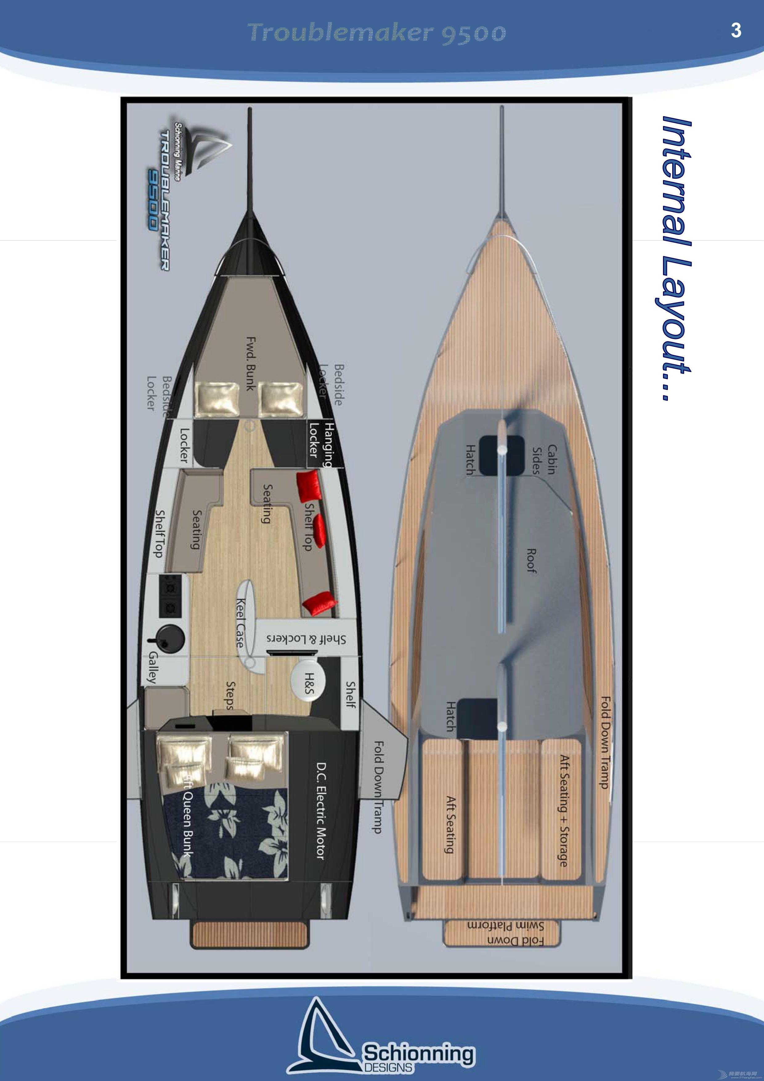 帆船 單體帆船DIY方案-Troublemaker 9500