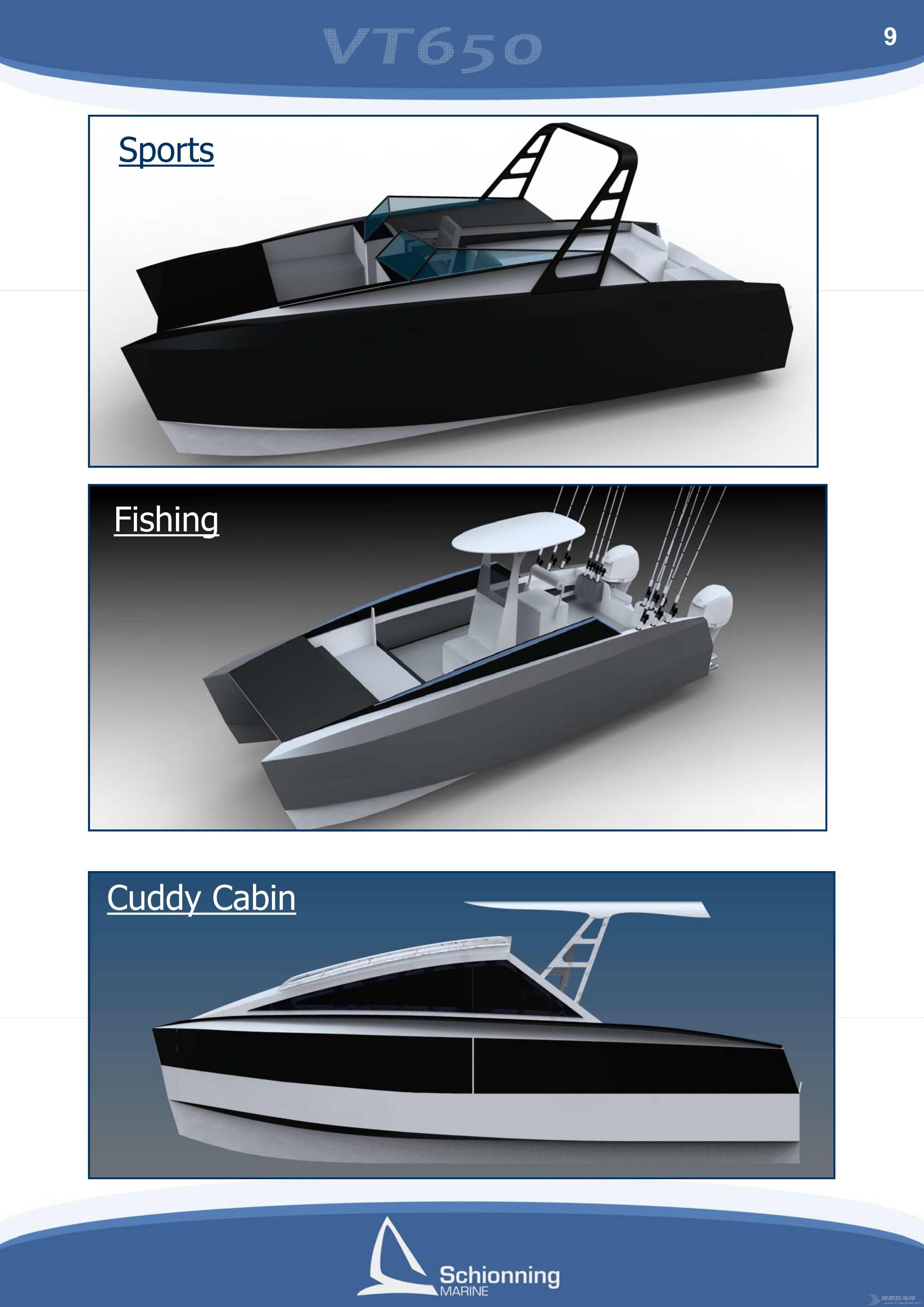 帆船 雙體遊艇DIY方案-Prowler VT650