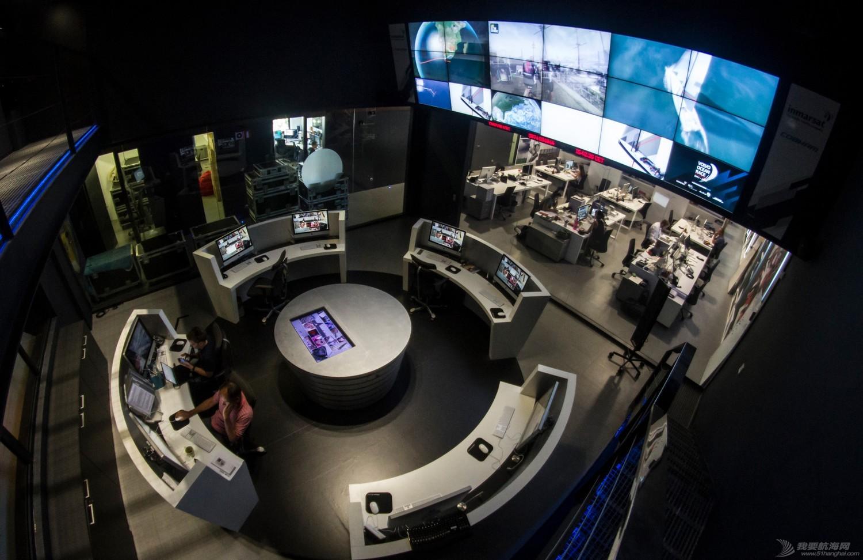 沃尔沃,世界地图,控制中心,大屏,地球 这么近,这么远 ——记沃尔沃环球帆船赛中的海陆零距离交流