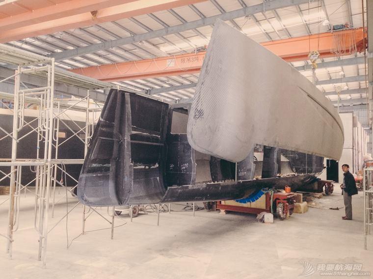 照片 雙體船製作過程參考照片