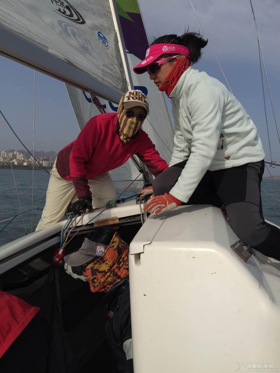 风景线,中国,青岛,帆船,照片 【20150417期:青帆协女子帆船队】 IMG_8113.JPG