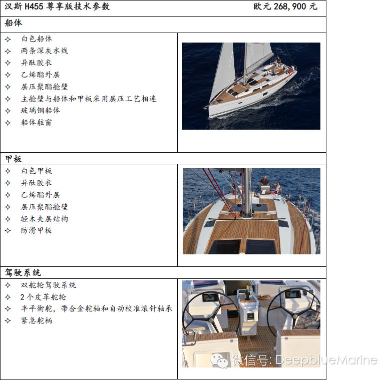 德国汉斯帆船2016尊享版配置和价格 H455 346c9ef7cf9fdaba23b539940548ee73.png