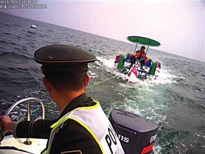皮划艇 顺风变逆风 刮走皮划艇 m_490091.jpg