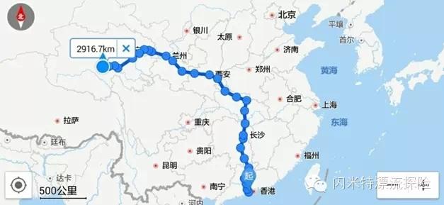 黄河,漂流,独木舟 【连载】黄河陌日漂流--闪米特水眼看世界 1-行车路线.jpg