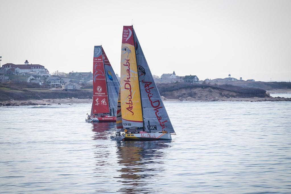 阿布扎比,沃尔沃,美洲杯,战斗力,对抗赛 远洋帆船赛被活生生跑成对抗赛?没逗你,这是真的!