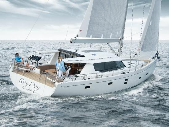 一个人,帆船 300万,一个人就能开,尺寸大点的帆船,怎么选择。 汉斯穆迪52
