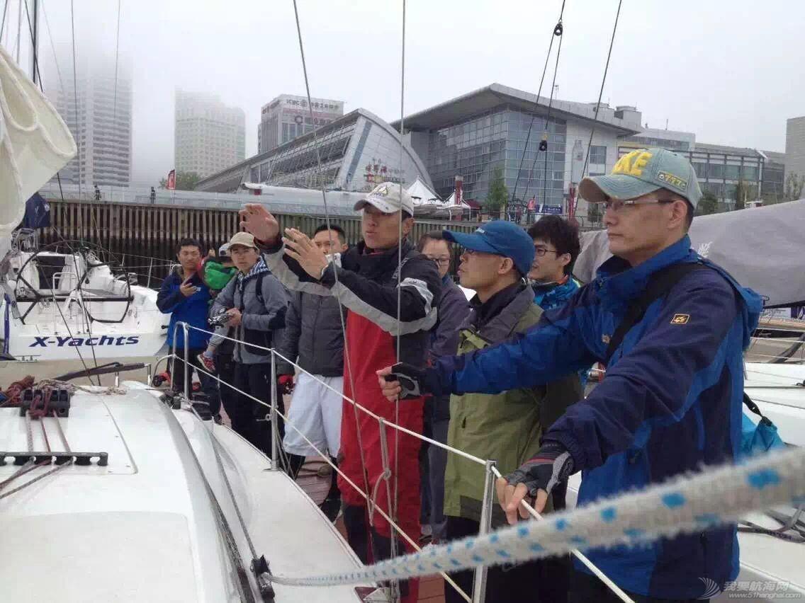 帆船,泡沫板,沃尔沃,官方网站,马拉松 久违的第一次航海(青岛春季2K帆船对抗赛-航海网帆船1队和2队) 23.pic.jpg