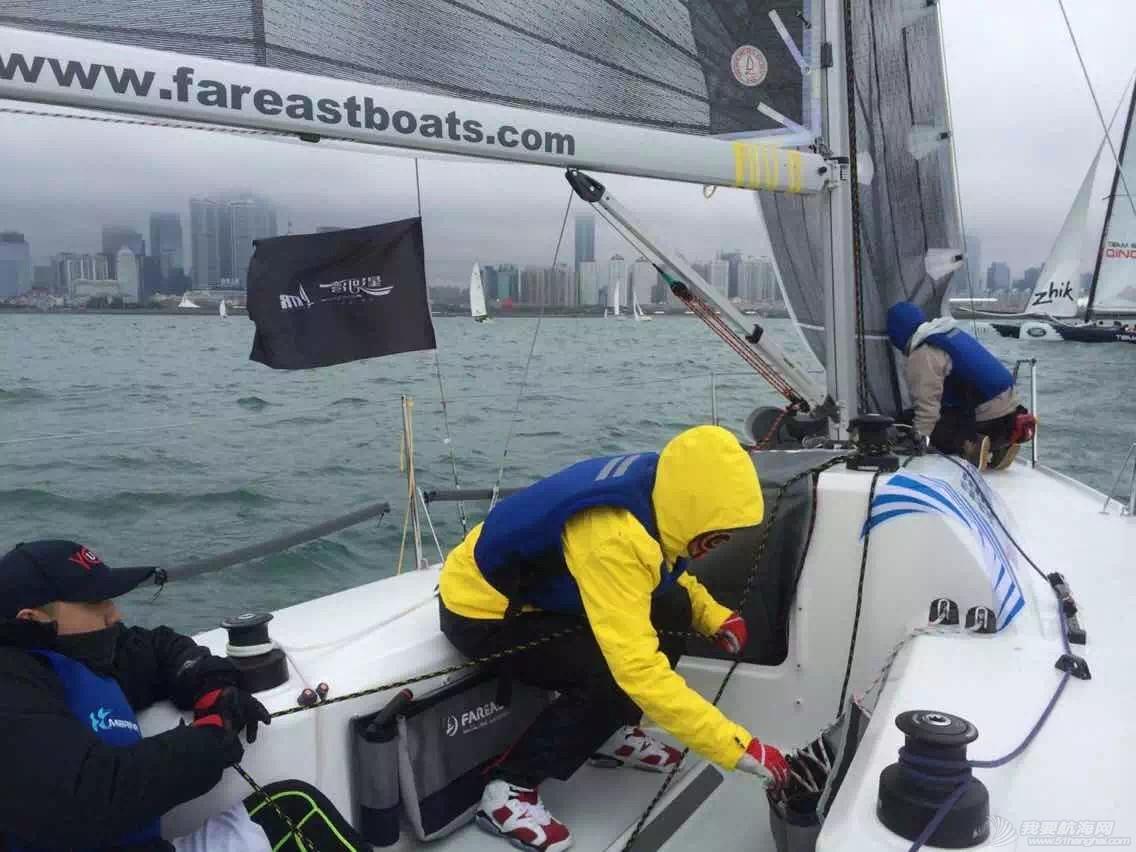 帆船,泡沫板,沃尔沃,官方网站,马拉松 久违的第一次航海(青岛春季2K帆船对抗赛-航海网帆船1队和2队) 27.pic_hd.jpg