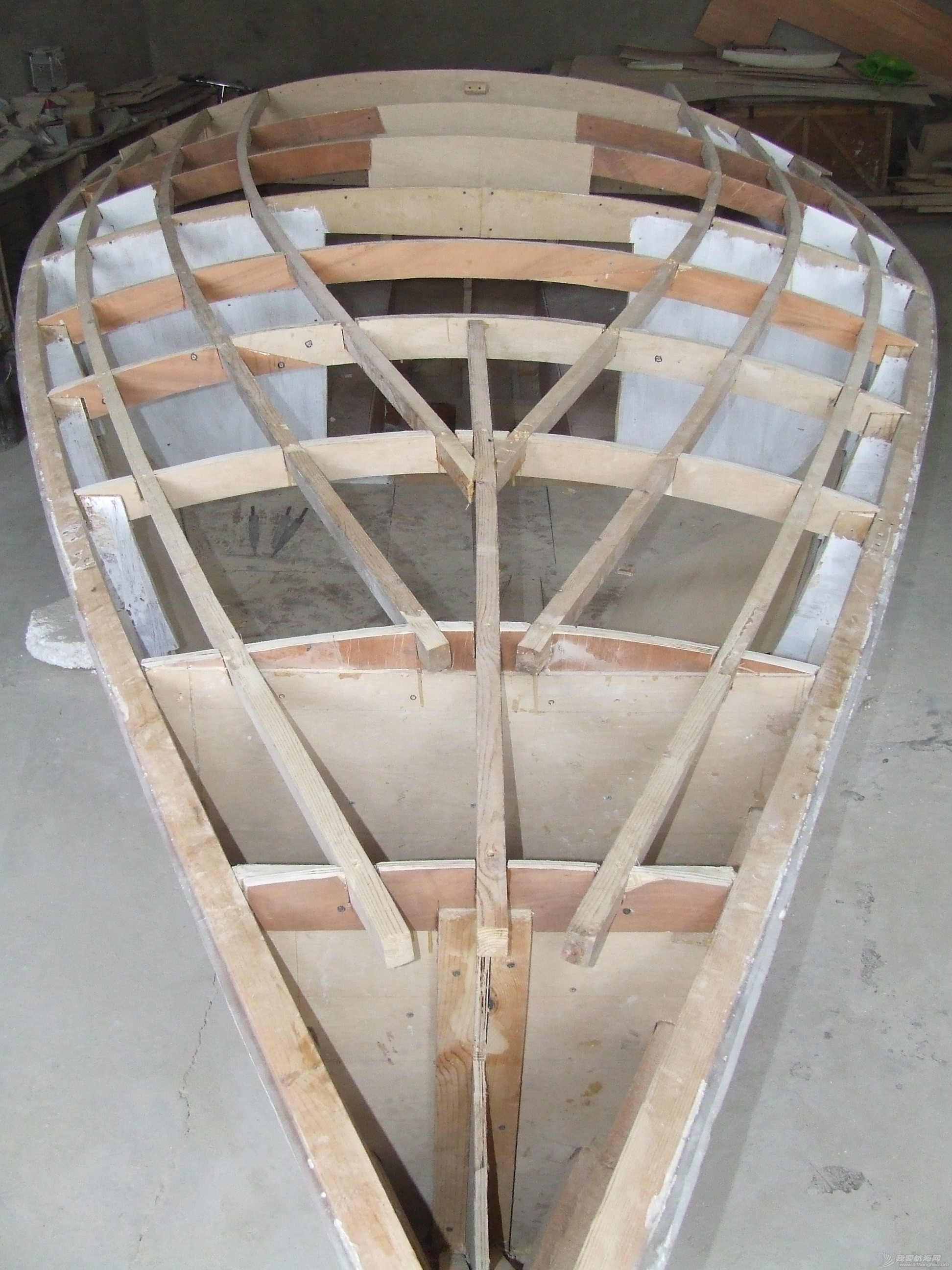 制作 GR-750开始进入甲板制作阶段 DSCF5820.JPG