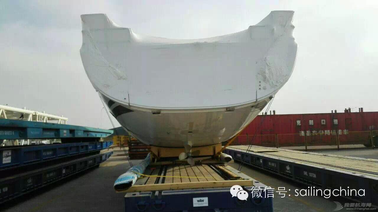 德国汉斯帆船158# H575 帆船到达青岛港 cf0ebb6ece2399393847883997bdf88f.jpg