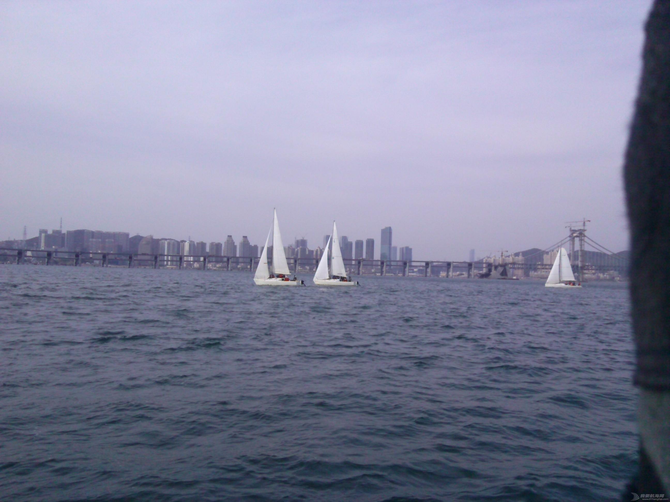 大连海事,大学,帆船 大连海事大学帆船队之海训20150514