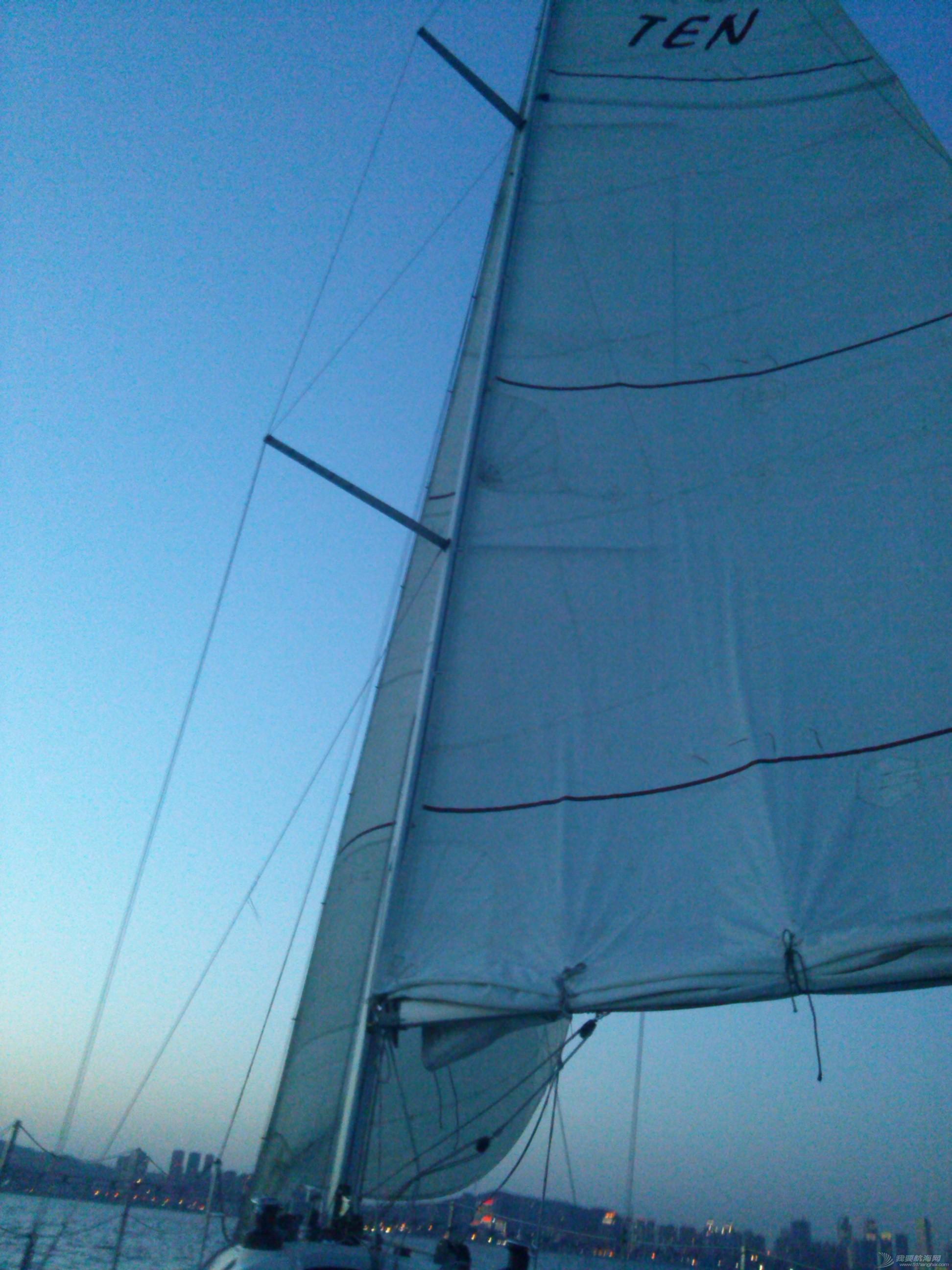 大连海事,大学,帆船 大连海事大学帆船队之训练到天黑20150520