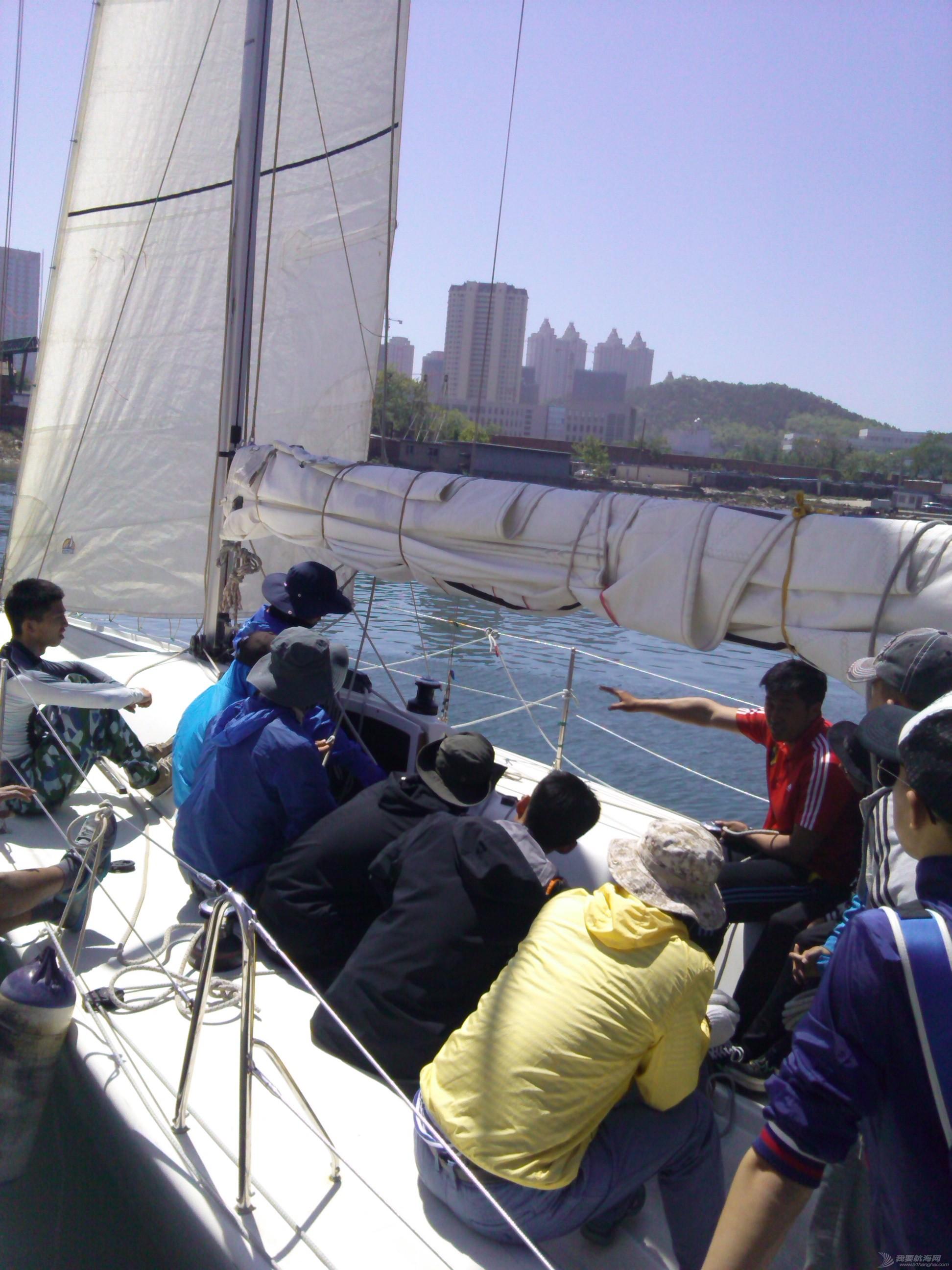 大连海事,大学,帆船,教练 大连海事大学帆船队之码头现场讲解20150523