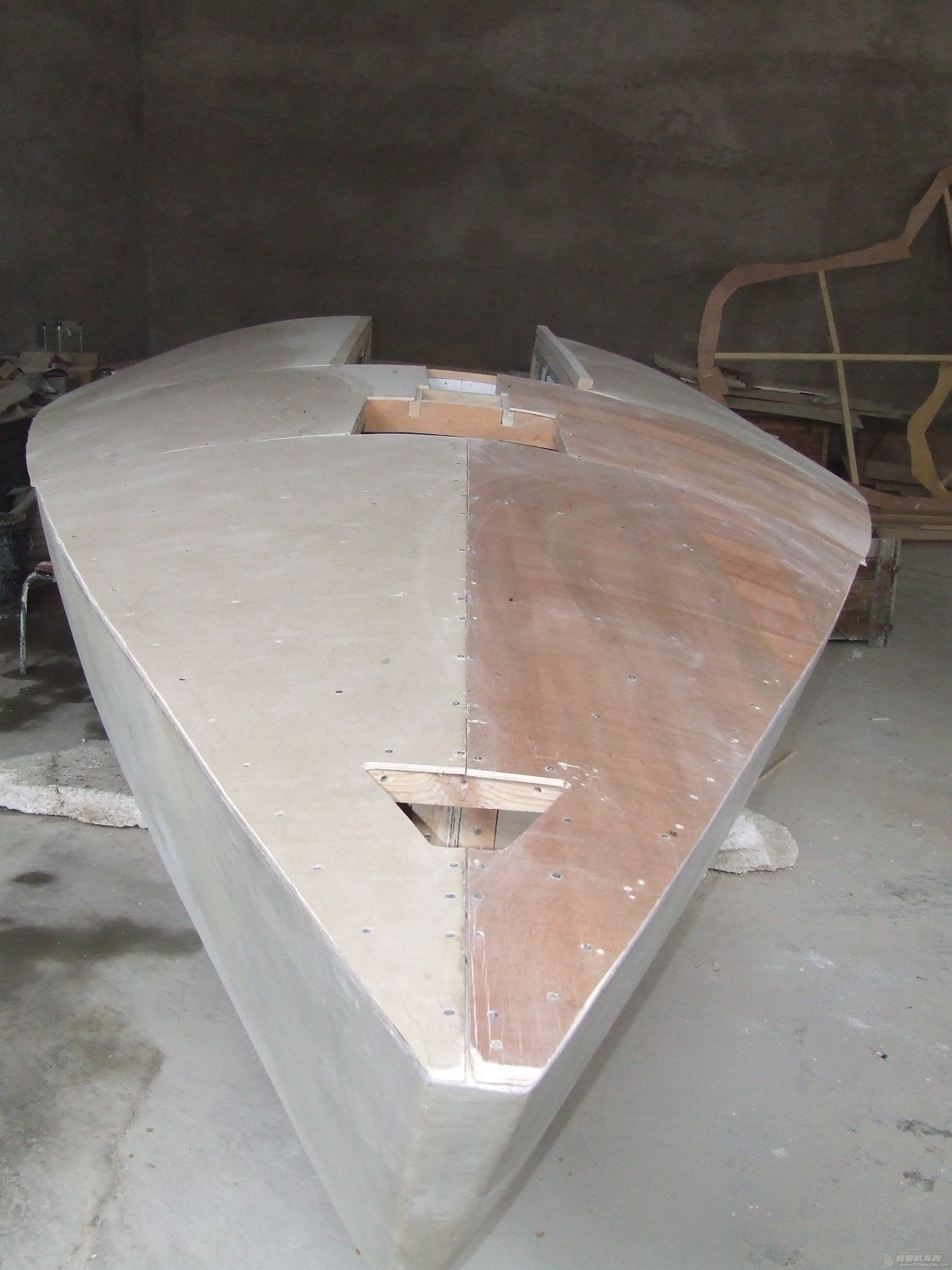 制作 GR-750甲板舱口部分的制作 DSCF6089.JPG