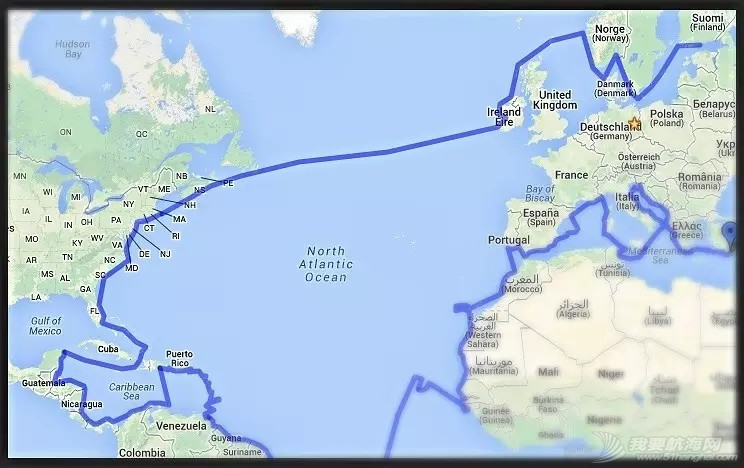 苏伊士运河,阿尔巴尼亚,土耳其,巴拿马,波斯尼亚 国外帆友设计的环球航海旅行航线 645e56299a35d042912ac8e1a719a377.jpg