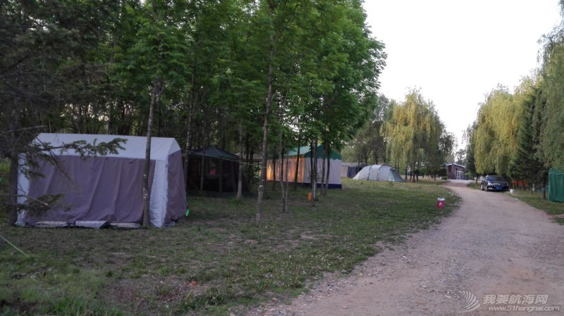 帆船夏令营启航 我们的营地