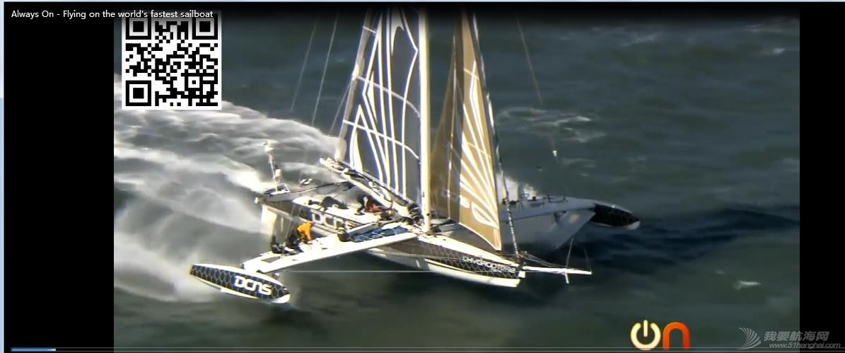 发明人,制造者,帆船,观光,模型 世界上最快的帆船 《Always On - Flying on the world's fastest sailboat》 360截图20150613201735489.jpg