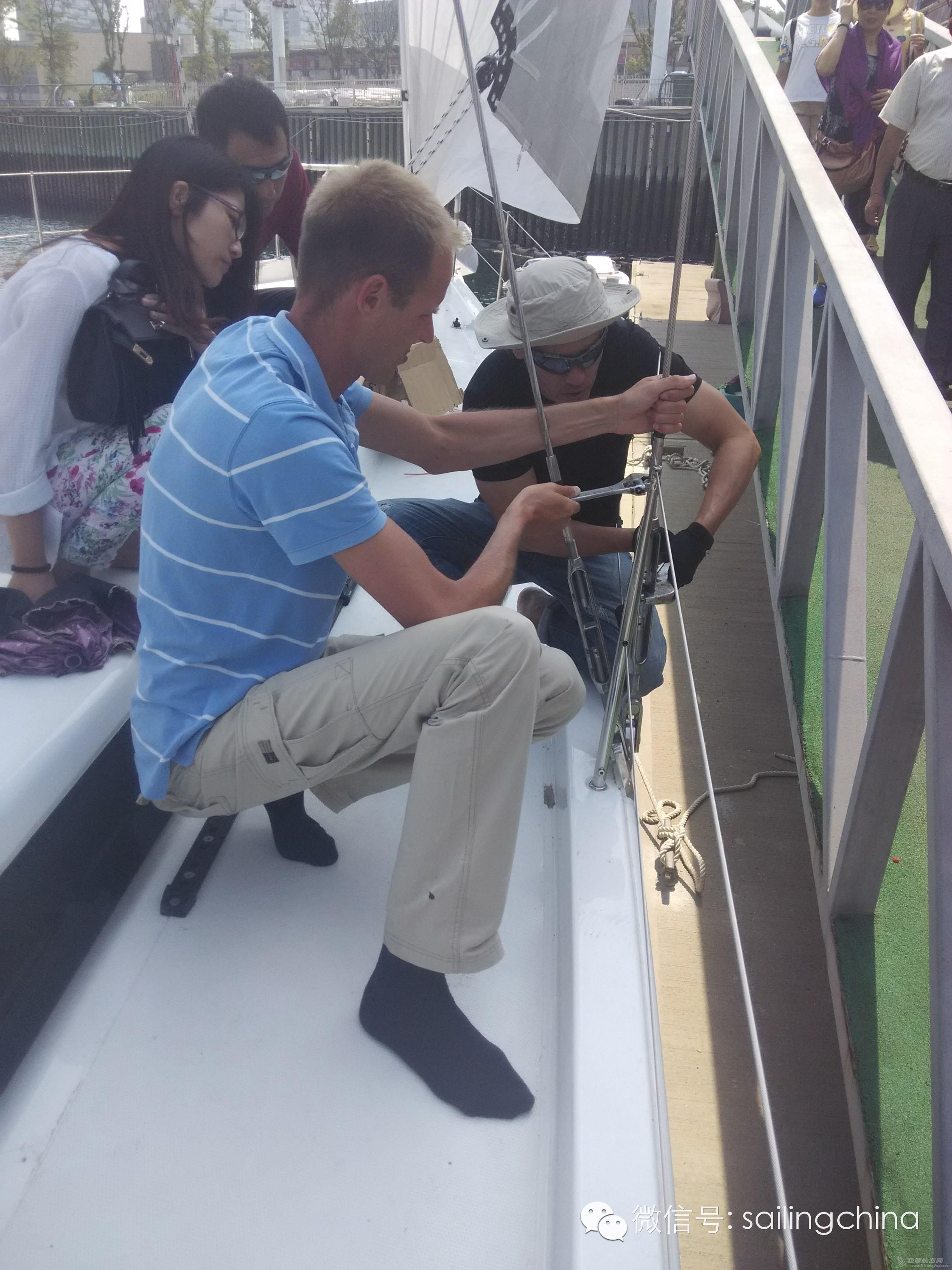 """汉斯H575""""HOPE 号""""帆船接受汉斯工厂德国工程师的检验 e0ea802285b91daad2d80c3e886c1ce3.jpg"""