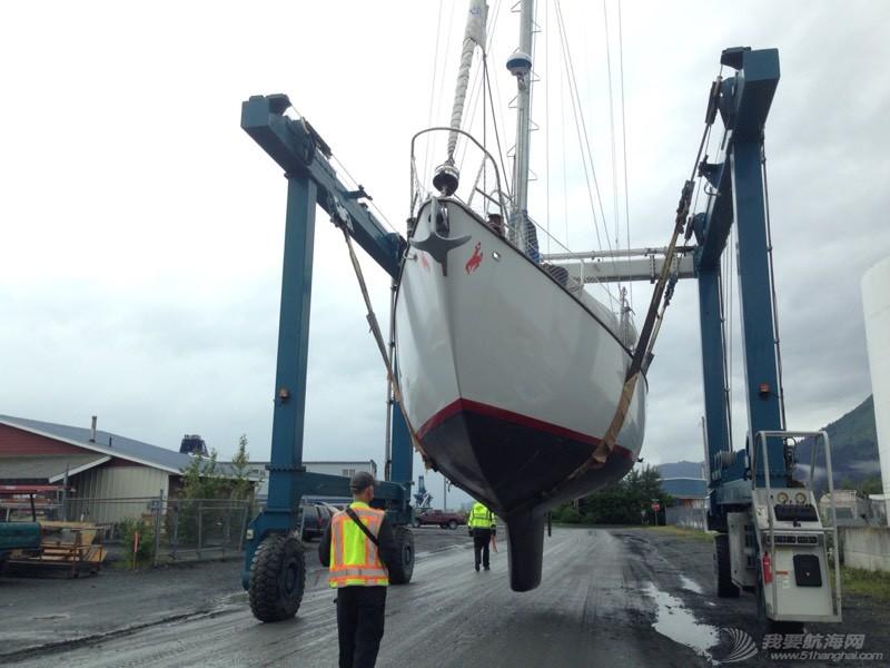 北美13姨连载-001-我们的帆船终于下水了 110051o7277z7ub7ia72ab.jpg