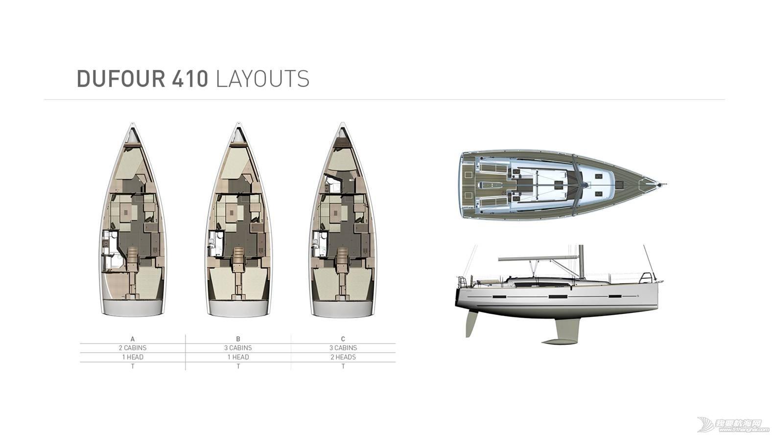双人床,发动机,洗手间,欧洲人,台湾 Dufour`GL系列现帆船艇出售