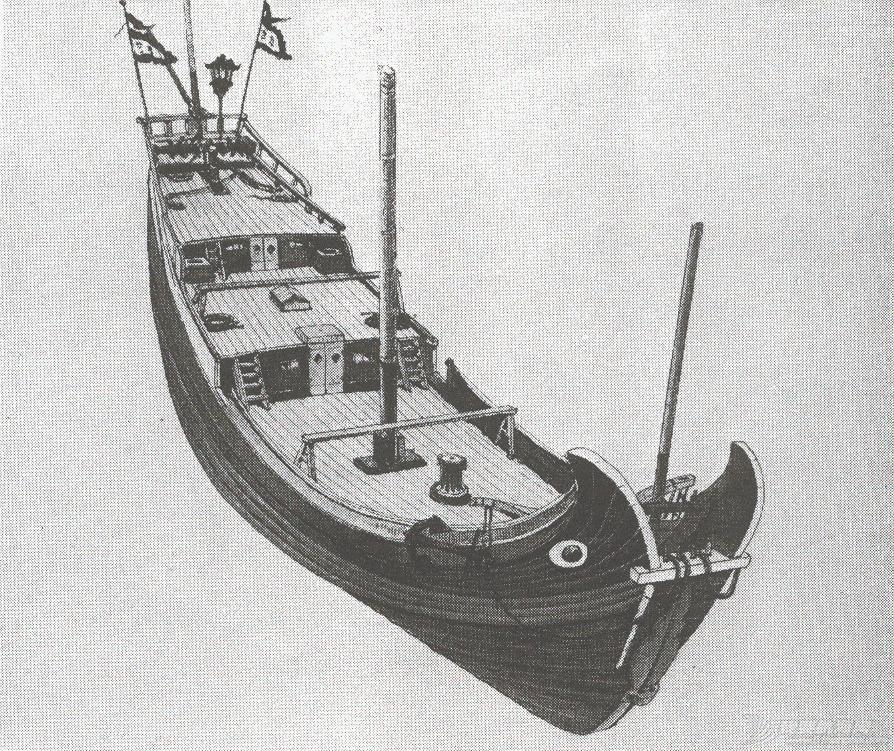 """转发许路先生的《福州运木船与""""花屁股""""(中译稿)》 junkscan007.jpg"""
