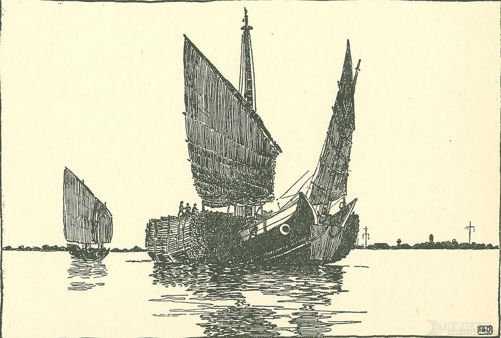 """转发许路先生的《福州运木船与""""花屁股""""(中译稿)》 福州杉船.jpg"""