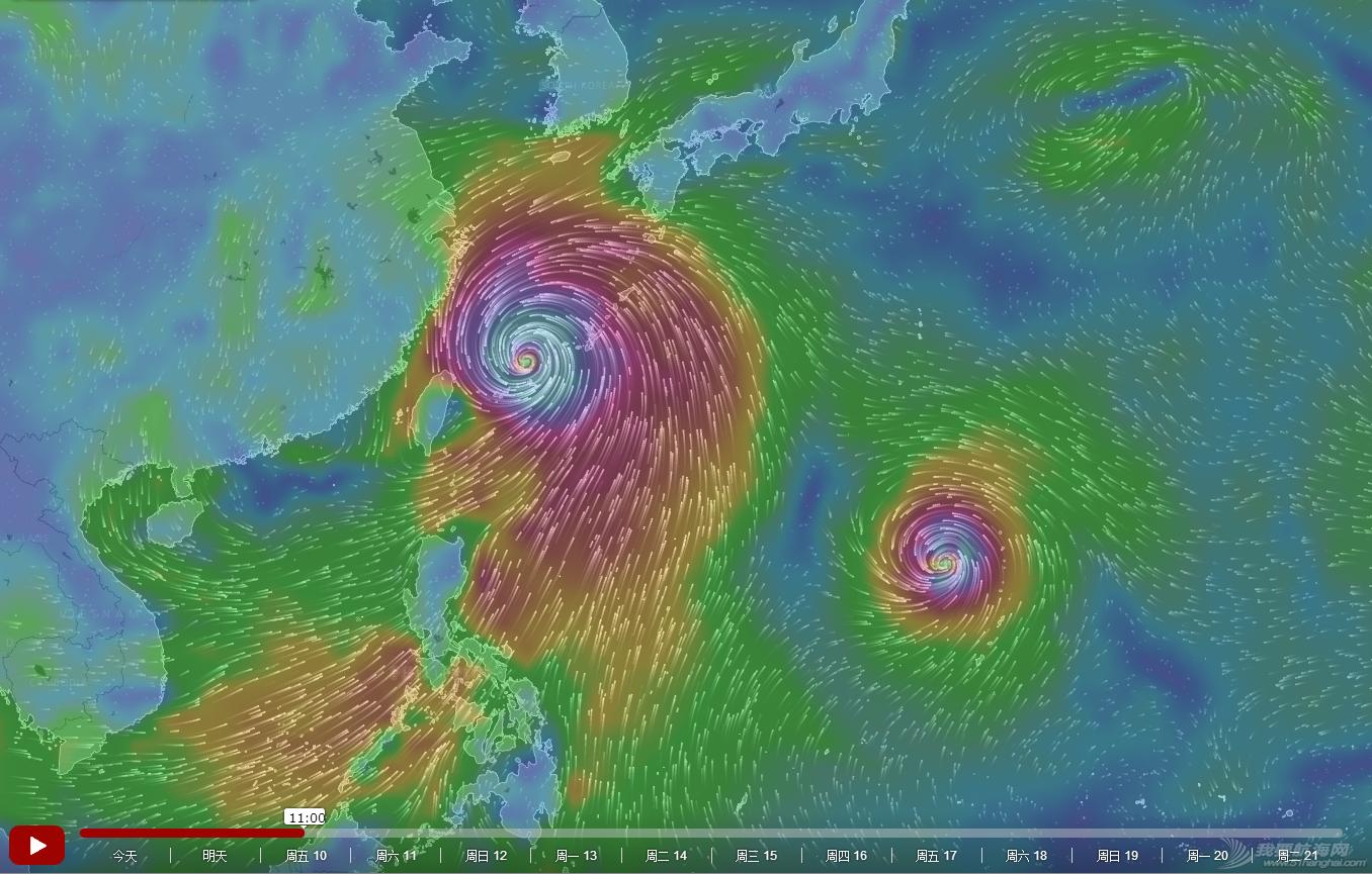 台风,浪卡,莲花,烂鸿,帆船气象 2015年7月8日 台风浪卡、莲花、烂鸿预警 20150710
