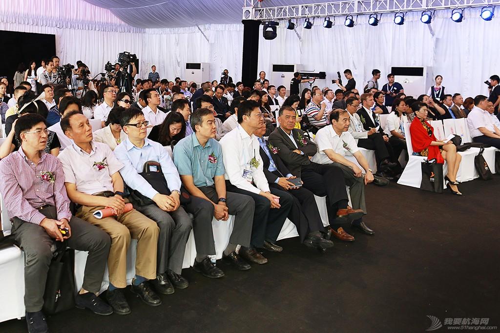 2015源至尚海•上海国际游艇节今日开幕 开幕仪式现场图一_1_.jpg