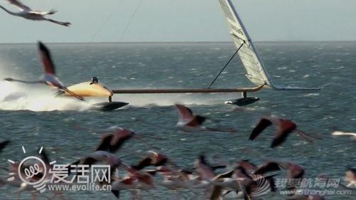 帆船,VSR2,历史纪录,冲浪风筝 疯狂老外打破帆船世界纪录 最高速度超100KM/h 843918b859cea889_thumb.jpg