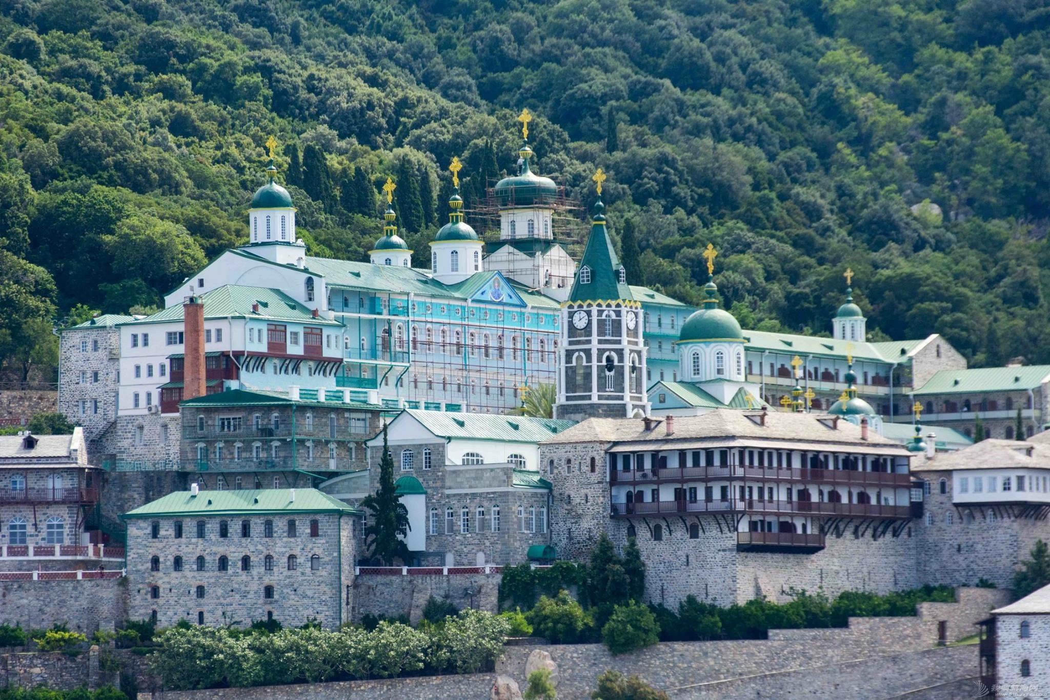 教科文组织,联合国,爱琴海,修道院,建筑群 只能航海远观的希腊最著名修道院建筑群 IMG_8681.JPG