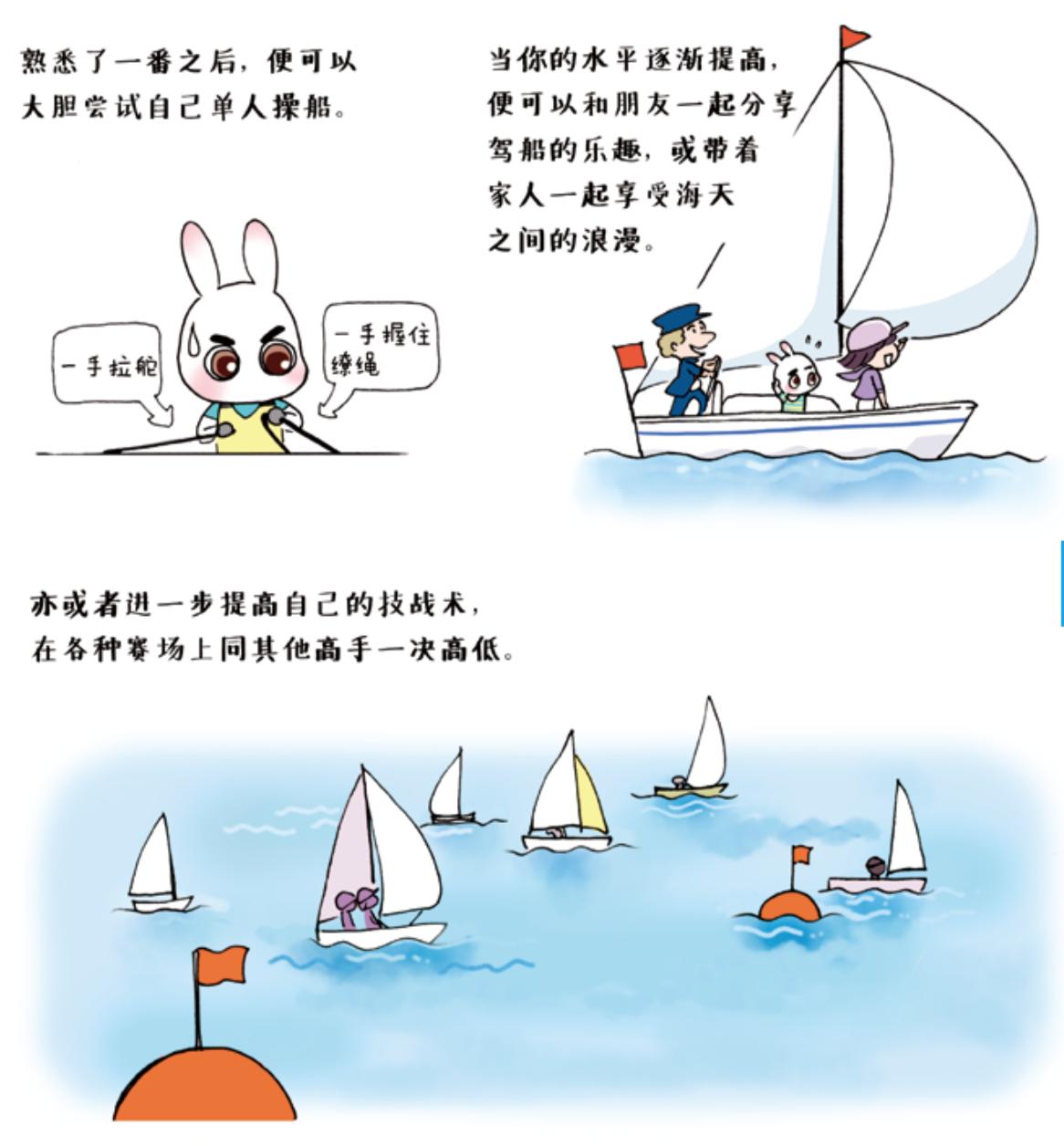 《跟奥运冠军学帆船》Lesson 01 走进帆船 屏幕快照