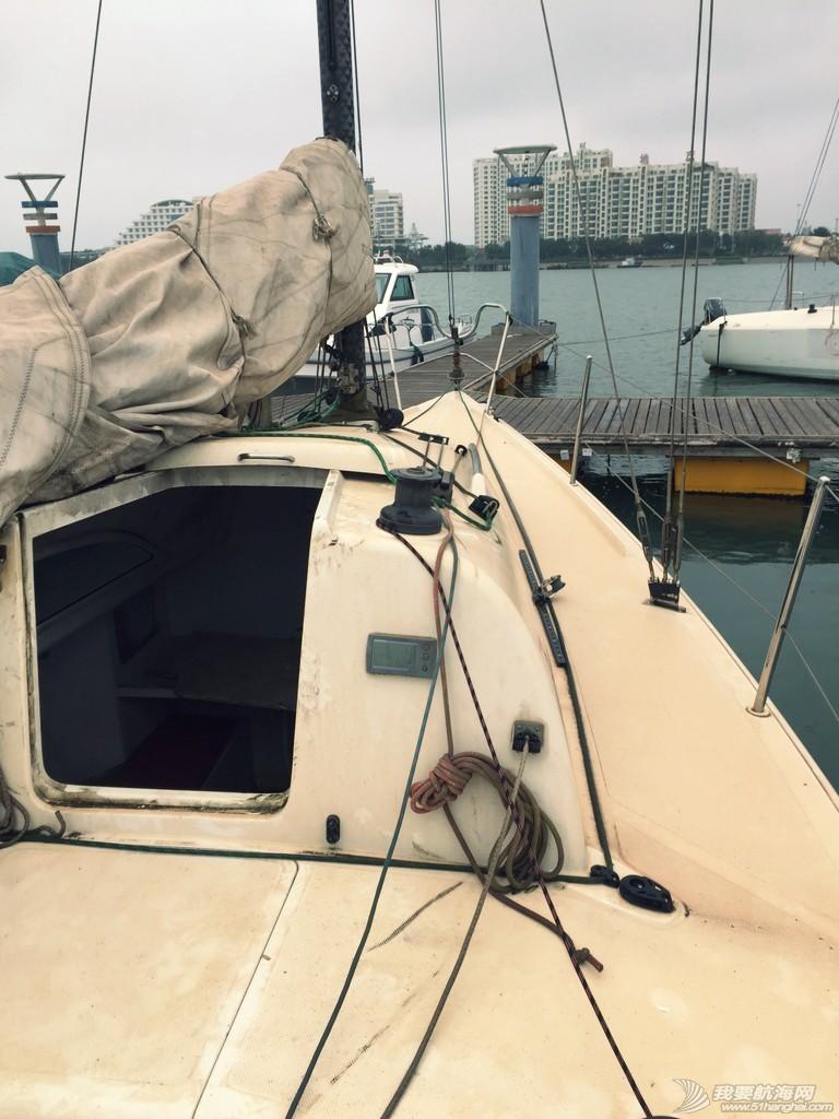 今天开始,志愿者,帆船,日记,日照 【公益航海志愿者日记@日照】Day2-今天清理第一艘帆船:飞虎,或者叫它灰虎 204614j2dvxy2c6f06om6c.jpg