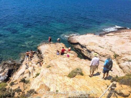 Lemnos岛火烈鸟的聚居地