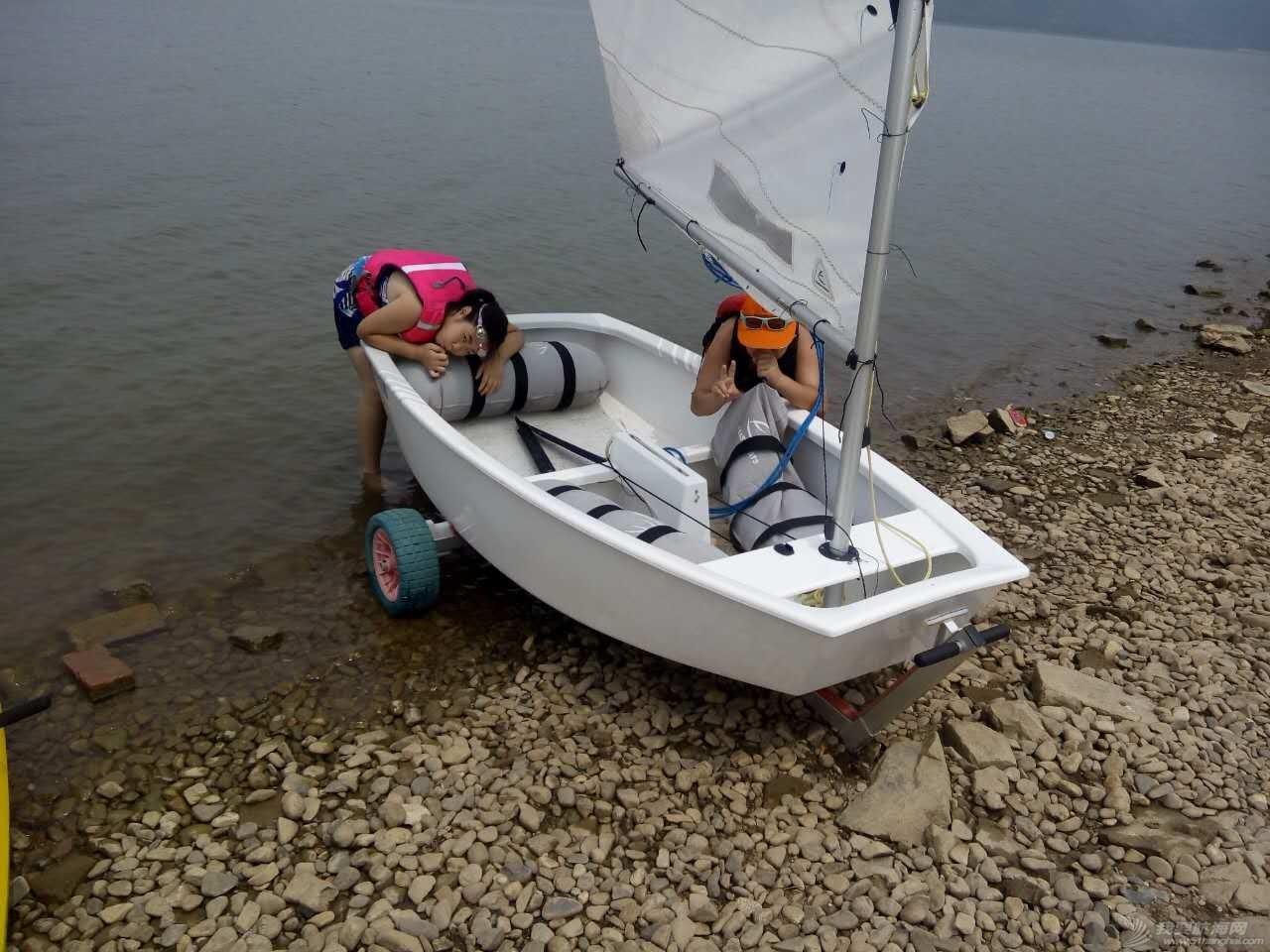 帆船 有帆船的童年