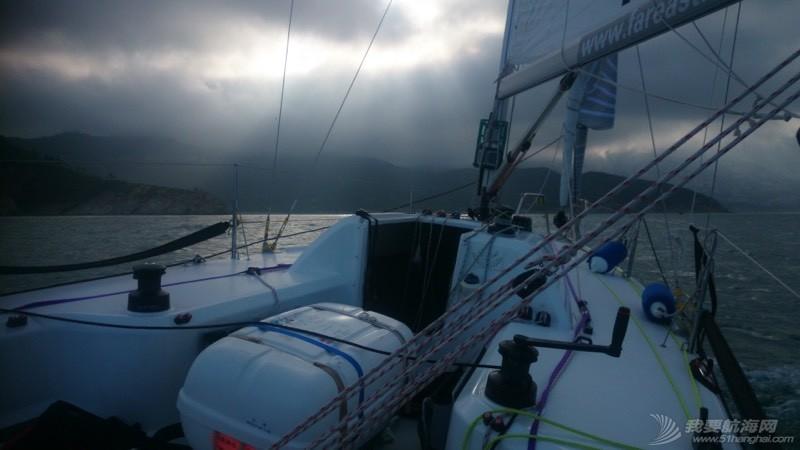 青岛,帆船,崂山 8.5米龙骨帆船的近岸航行,青岛到崂山头 080045dlqexx58qrivenrx.jpg