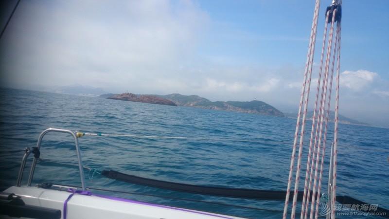青岛,帆船,崂山 8.5米龙骨帆船的近岸航行,青岛到崂山头 080046baem2r10613m9zr1.jpg